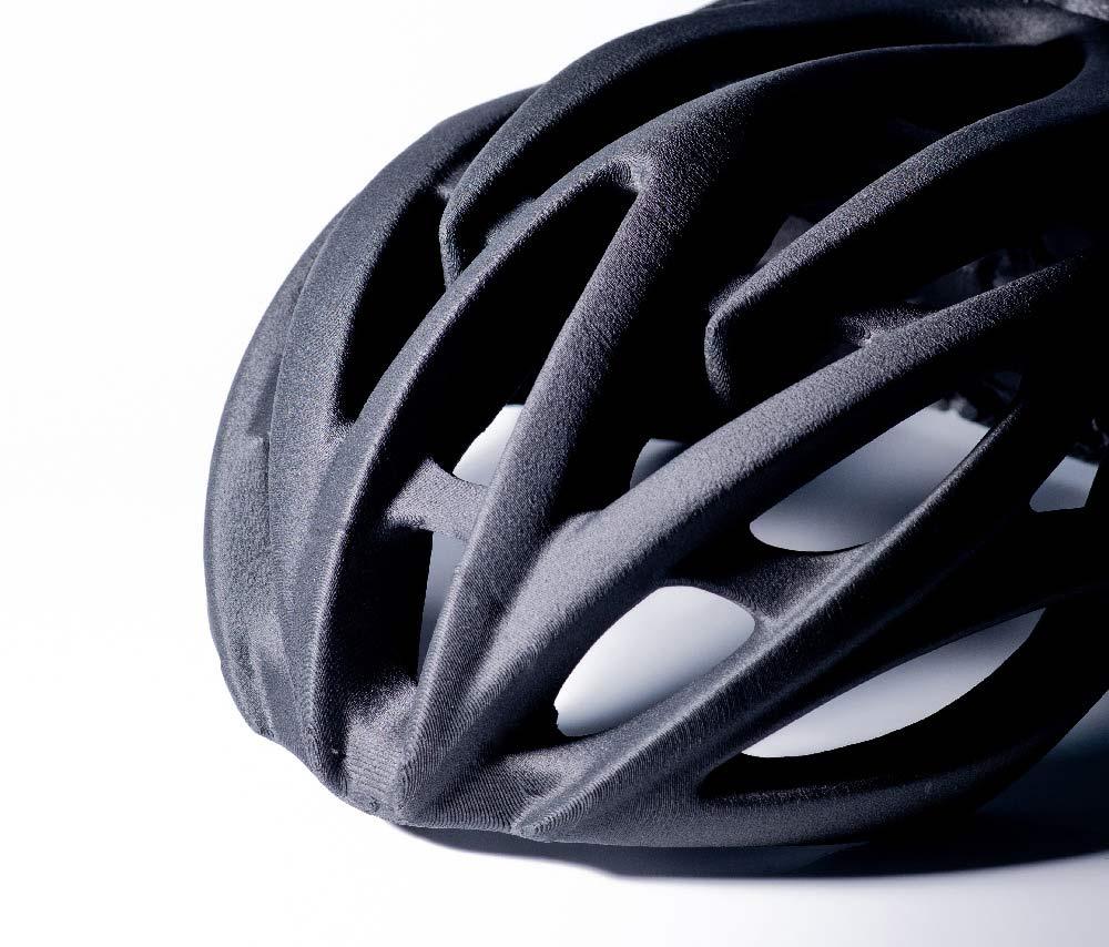 nylon carbon 3d printed helmet